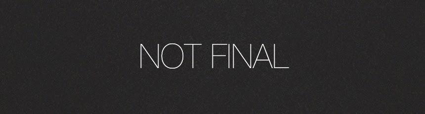 Not Final