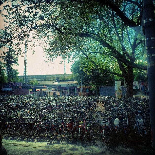 Münster - Ein Zwischenstop des Flixbus