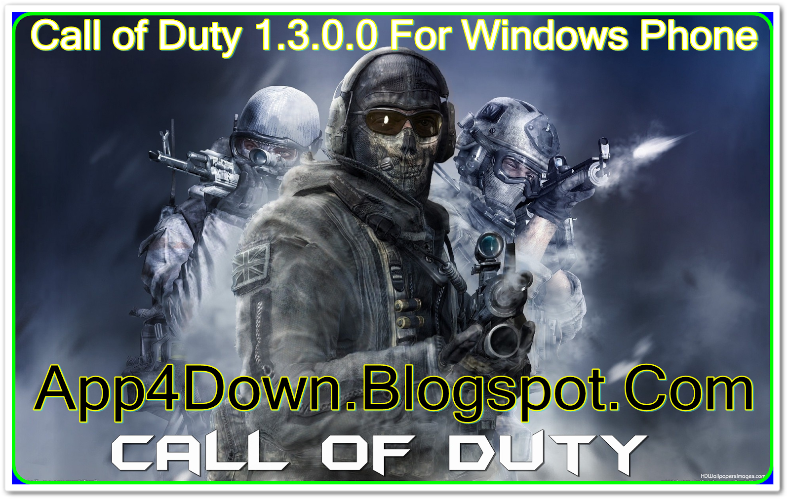 Download Call of Duty 1.3.0.0 For Windows Phone (NEW)