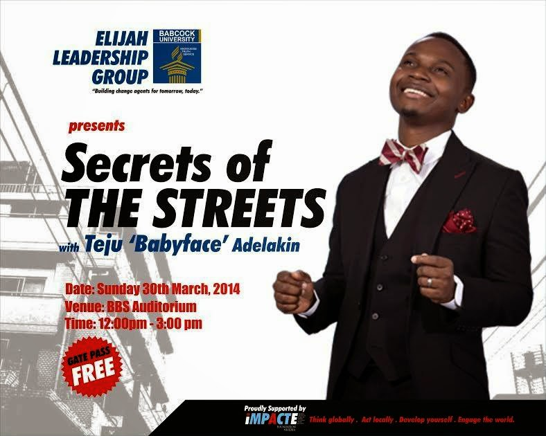 Secrets of the Streets With Teju Babyface [@Tejubabyfacetv]