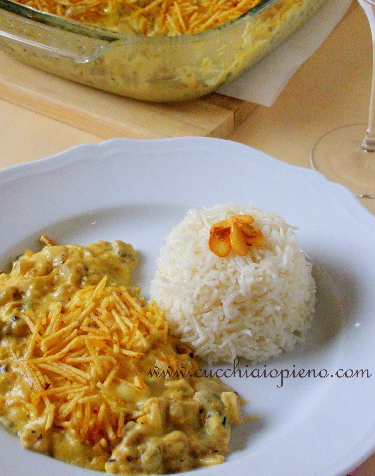 arroz cozido