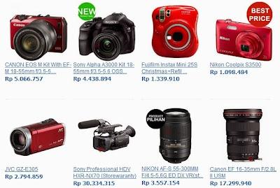 Contoh Produk dari Camera.co.id yang siap di Order - Kalau tidak dicoba, mana tau!