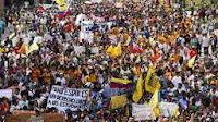 MULTITUDINARIAS MARCHAS CONTRA MADURO EN VENEZUELA