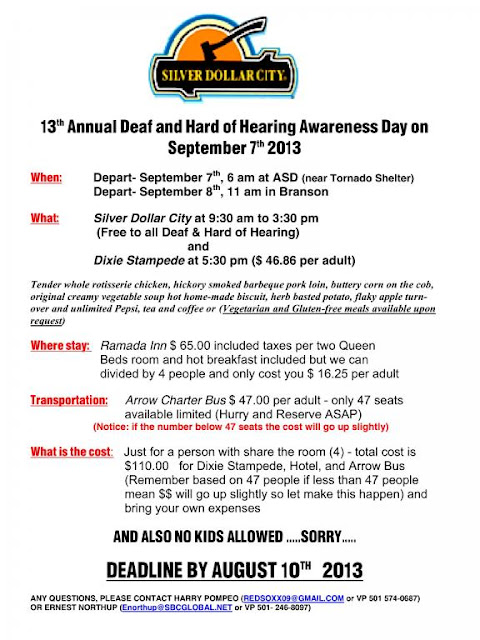 13th Annual Deaf and Hard of Hearing Awareness Day (AR)