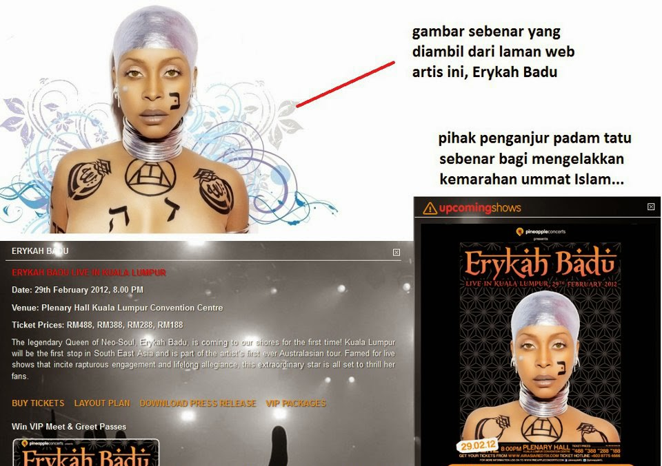 Erykah Badu's controversial 'Allah' word