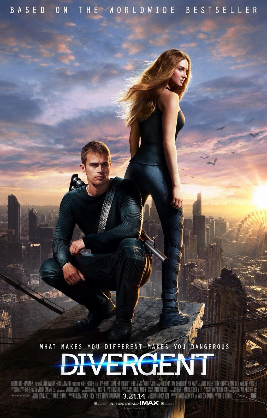 Divergent (2014) คนแยกโลก Full HD มาสเตอร์ พากย์ไทย