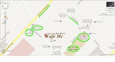 Cây pha lê Cát Tường - Bản đồ Cafe Me - CayPhaLe.com