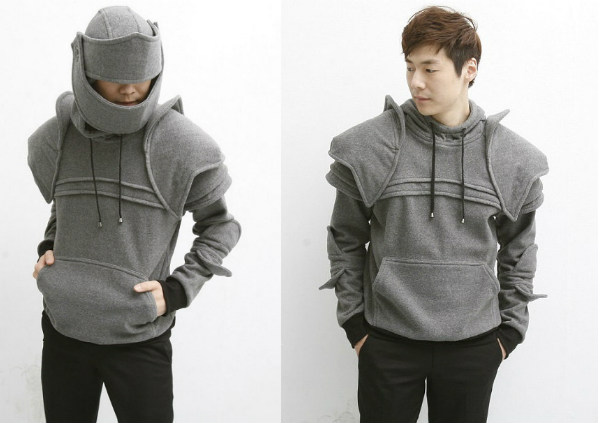 Awesome Knight Armor Hoodies