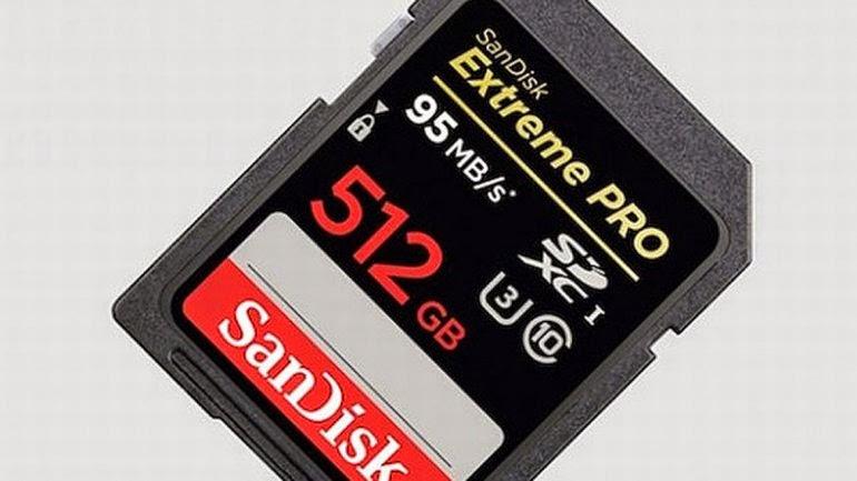 Salió la tarjeta SD con mayor capacidad del mundo PRECIO US$799