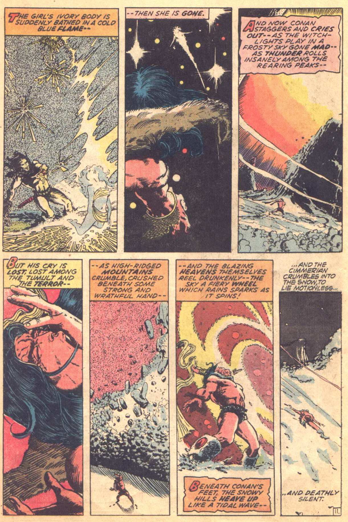 Conan the Barbarian (1970) Issue #16 #28 - English 11