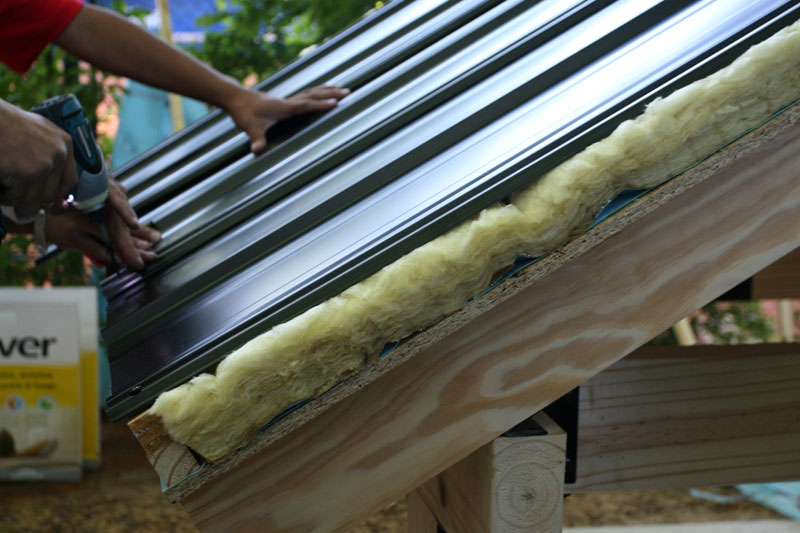 Dise a una vida autosustentable design a self - Materiales aislantes termicos ...