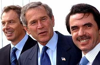 La mentira es una estrategia política para justificar unas acciones como ejemplifica el trío de las Azores
