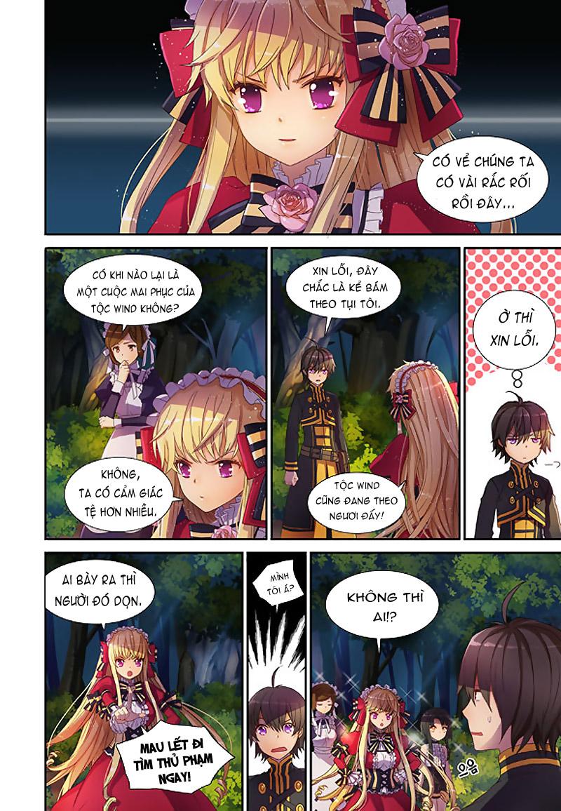 TruyenHay.Com - Ảnh 9 - Sword Girls (full color) Chap 4