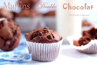 Double chocolate muffins, chocolate muffins, muffins, chocolate