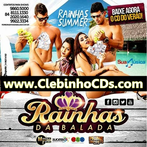 RAINHAS DA BALADA SUMMER - PROMOCIONAL 2015