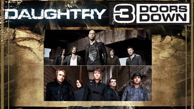 Daughtry tour dates in Sydney