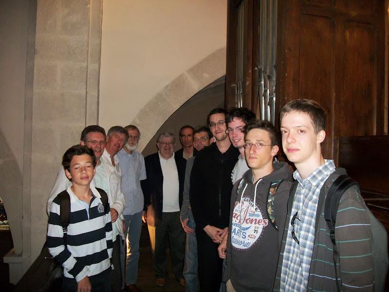 Audition des l'élèves des classes d'orgue des conservatoires de Chalon sur Saône, Beaune, Le Creuso