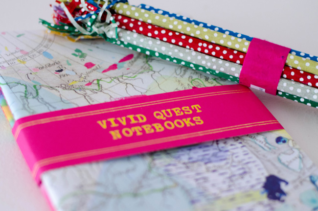 Anthropologie Vivid Quest Notebooks