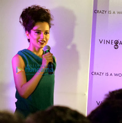Kangna Ranaut launches Spanish women's brand 'Vinegar' in Hyderabad