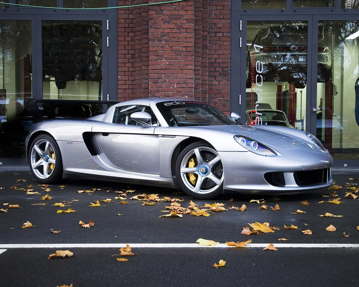 porsche carrera gt wallpaper   World of Cars