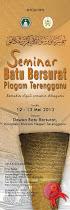 Seminar Batu Bersurat Piagam Terengganu