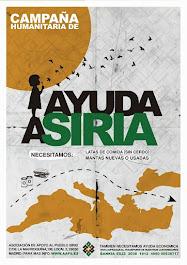 Nueva campaña de ayuda humanitaria a Siria
