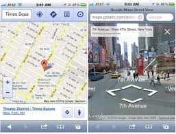 street view on iOS 6