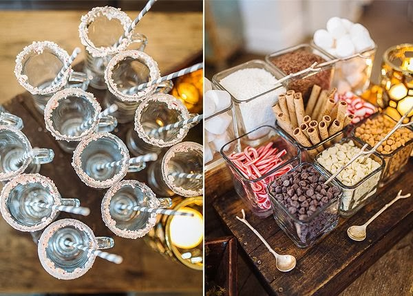 Christmas DIY: Hot Chocolate Bar! - pink chanel suit