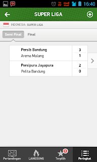 score super liga indonesia online