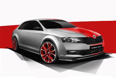 2013 Skoda Rapid Sport Concept