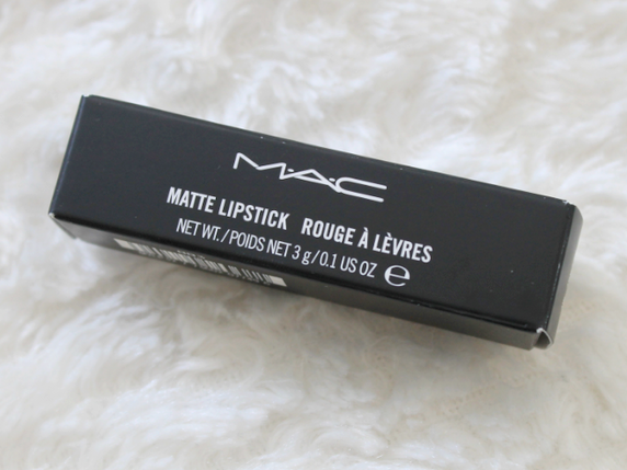 MAC Matte Lipstick - Please Me.