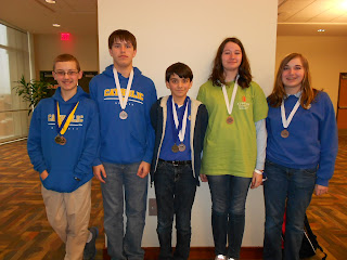 MCPS Middle School Science Olympiad does well in Auburn 2