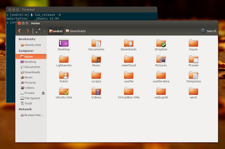 Patched Nautilus 3.4 dual pane Ubuntu 13.04