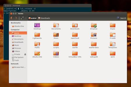 Patched Nautilus 3.4 dual pane Ubuntu 13.04