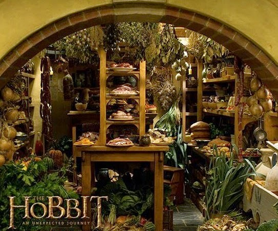 My Hobbit Hole Bag End Pantry