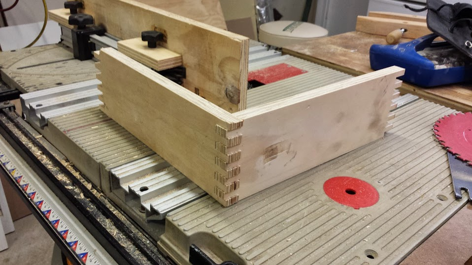 how to cut box joints