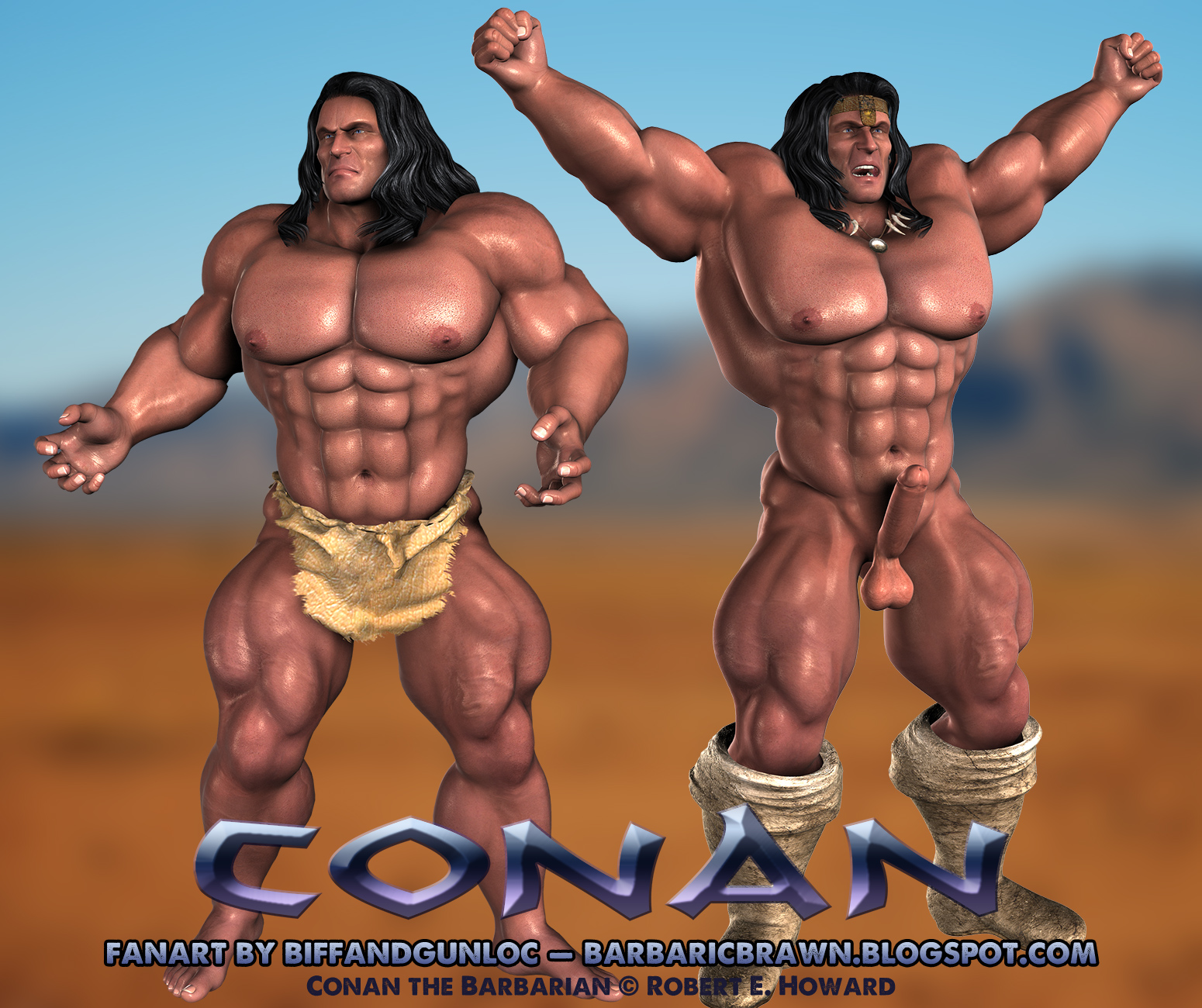 Conan the barbarian cartoon porn naked pics