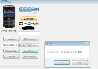 How to Install BB OS downgrade or upgrade with BBSAK