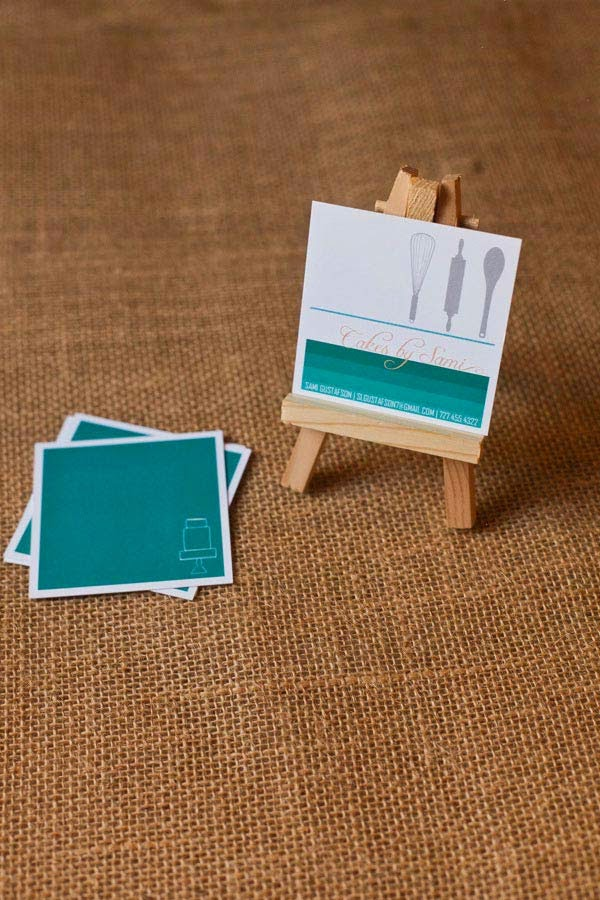 25 Square Business Card Designs to Get Inspired Jayce o