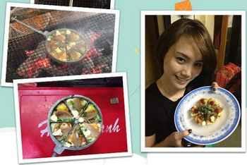 Bánh trứng cút - Món ăn vặt mới tại Hà Nội, mon an vat ngon, diem an uong ngon re, quan an binh dan, banh trung cut, banh trang tron, banh trang nuong trung, mon ngon ha noi, ha noi am thuc, dia chi am thuc