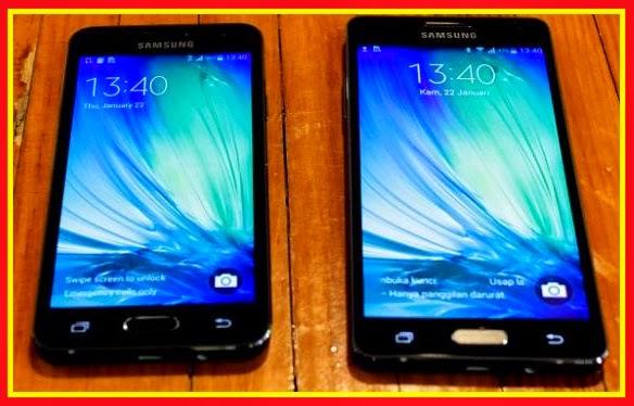 Perbedaan Samsung Galaxy A3 Dan A5