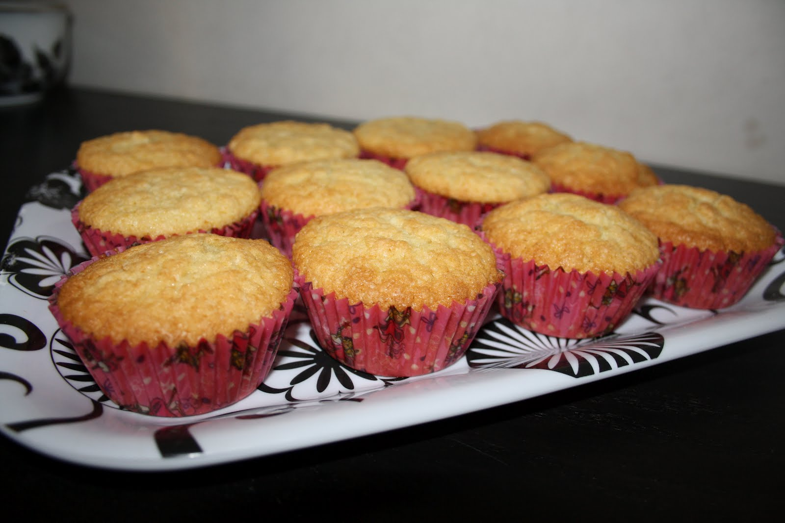 glutenfria chokladmuffins med frosting