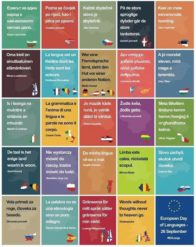 El Conde Fr La Fête Des Langues Européennes