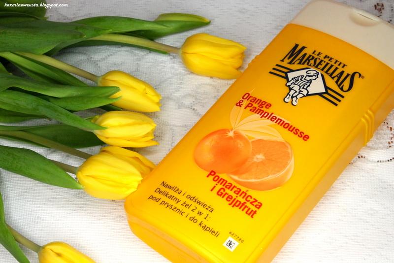 Le Petit Marseillais żel pod prysznic i do kąpieli Pomarańcza i grejpfrut