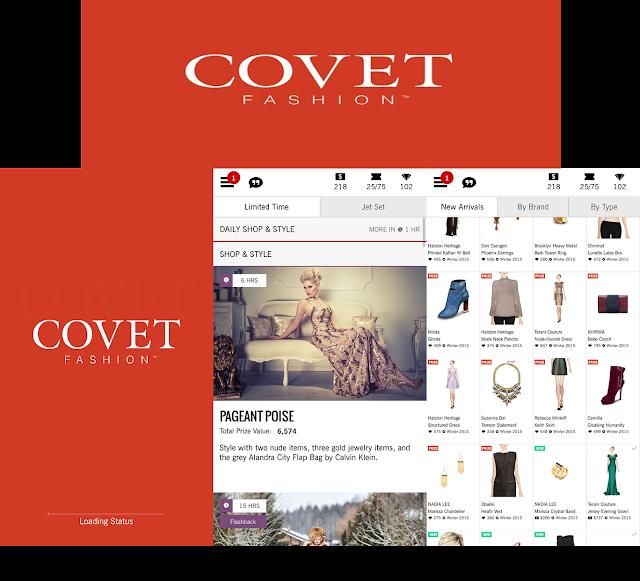 Covet, fashion, app