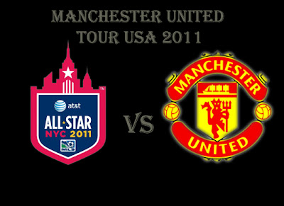 Man Utd Tour USA MLS All-Stars v Manchester United