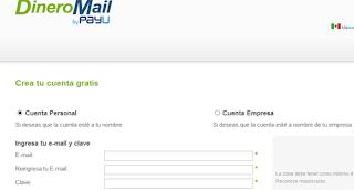 registro en DineroMail