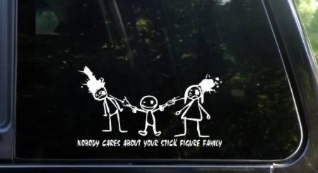 Hilarious Family Car Stickers Unbelievable Stories From