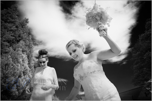 infrared converted dslr wedding photography, nikon d70, hallgarth manor