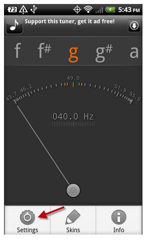 stem gitar android